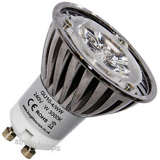 Cree LED GU10 Light Bulb Warm White 4W High Power 35 Watt Light Out Put New