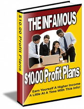 Make Money The Easy Way - $10 Dollars At  A Time  - Five Different Plans (CD)