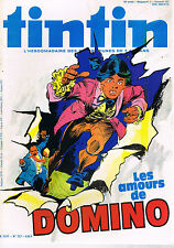 ▬► TINTIN N°3 de 1980 Domino -  Archives Moulinsart