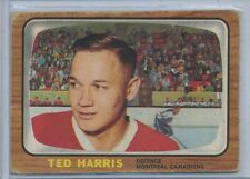 1966-67 O-Pee-Chee Hockey #69 Ted Harris Montreal Canadians VG