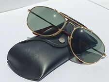 VINTAGE RAY-BAN W1079 1992 OLYMPIC GAMES WRAP AVIATOR SUNGLASSES B&L USA AND CAS