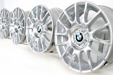 NEU Original BMW 1er E81 E82 E87 E88 18 Zoll Alufelgen 216 Motorsport silber