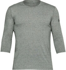 Under Armour Ua Men's Training 3/4 Utility T-Shirt - Xl - Grey - New