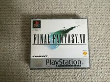 Final Fantasy VII - PlayStation Platinum - (Sony PlayStation, 1997)