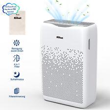 AIIBOT Luftreiniger gegen Staub Pollen Rauch Gerüche, Timer Ionisator 55m² Hepa