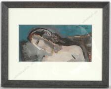 """Boris Deutsch (1892-1978) """"Art Deco study"""", gouache, 1930"""