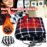 Portable 12V USB Electric Heated Car Office Use Winter Warm Blanket Cover