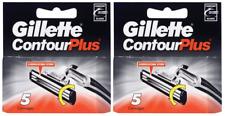 Gillette Contour Plus (Gillette Atra Plus) Refill Blade, 10 Cartridges NEW