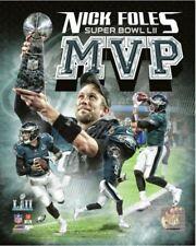 Nick Foles Philadelphia Eagles Super Bowl LII MVP Champion Official 8x10 Photo