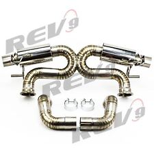 REV9 05-10 CHRYSLER 300C V6 STAINLESS STEEL CATBACK EXHAUST SYSTEM 100MM TIP 300