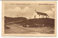 carnac , tumulus et chapelle saint-michel