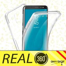 Funda Samsung Galaxy S9/S9 Plus 360º Silicona Transparente Doble Protección