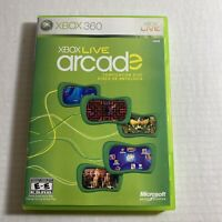 Xbox Live Arcade - Microsoft Xbox 360 Video Game Free Shipping Good Condition