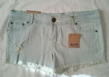 Ladies Size 12 Bleached wash Short Shorts BNWT
