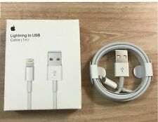 GENUINE ORIGINAL OFFICIAL For Apple iPhone 11/X/8/7/6S/6/5S/SE Charger USB Cable