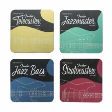 Fender Untersetzer 4er-Pack Stratocaster, Jazzmaster, Telecaster & Jazz Bass Des