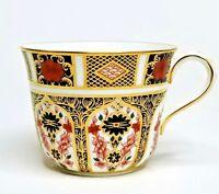 "Royal Crown Derby Flat Cup 2 5/8"" OLD IMARI 1128 English Bone China Gold"