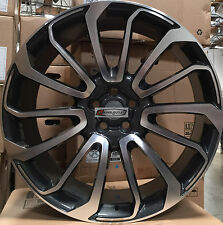 22 Autobiography Style Wheels Gunmetal Rims Pirelli Tires Fit Range Rover HSE