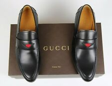 New Rare Gucci Classic Black Loafer Defect 2 Right Shoes Size 6.5 7.5 US