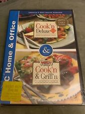Cook'n Deluxe 6.0 Cook'n & Grill'n Cd Rom Windows 2000/Nt/Me New Free Shipping