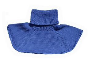 Neck Warmer 100% MERINO WOOL baby children chemisette collar scarf knit knitted
