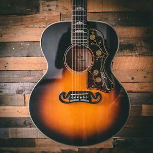 Sigma SG Series GJA-SG200 Jumbo Electro Acoustic Guitar - Sunburst with Case