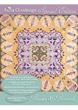 Anita Goodesign Embroidery Machine Design CD PANSIES & PARASOLS  SPECIAL EDITION