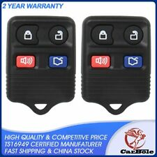 2pcs Car Key Keyless Entry Remote Control Fob For Ford Expedition 5.4/3.5/2.0 V6
