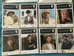 JOB LOT OF 8 DVD's THE AGATHA CHRISTIE FILM COLLECTION NEW FEATURE FILMS