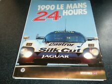 LE MANS ANNUAL YEARBOOK ACO 1990 SILK CUT JAGUAR XJR12 PORSCHE 962 MAZDA 787