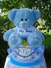 """Windeltorte""""My Teddy und Babydecke-Little Prince """"Geburt,Taufe,Geburtstag!"""