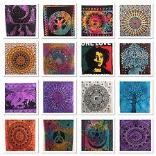 Tapiz Indio Mandala Hippy Póster Tamaño Bohemio Funda