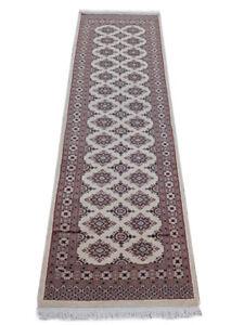 Trendy Ivory wool carpet runners for hallways 32 x 97 in Jaldar Rug Sumptuous