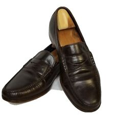 Cole Haan Hudson Loafer Size 11 Dark Chocolate Brown Mens C11616 Mint