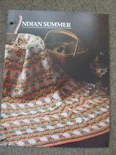 "Indian summer Afghan (44"" x 57"") Crochet Patterns Annie's Attic"