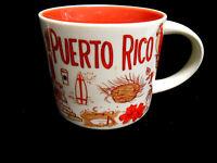 Starbucks Puerto Rico Coffee Mug Been There Series EUC