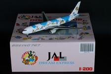 "JAL Japan Airlines B767-300 ""Disney"" Reg:JA8397 JC Wings 1:200 Diecast XX2726"