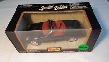Maisto - Black Ford Thunderbird Show Car Convertible - 1:25 Scale Diecast