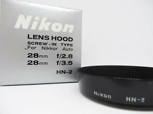 [MINT in BOX] Nikon HN-2 Lens Hood for Nikkor Auto from Japan 494