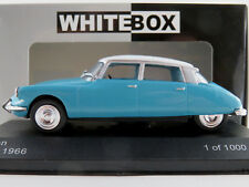 WhiteBox WB229 Citroen DS 19 Limousine (1966) in hellblau/weiß 1:43 NEU/OVP