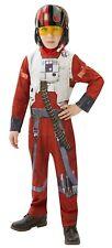 STAR WARS POE DAMERON X-WING FIGHTER PILOT COSTUME (MEDIUM: 5-6 YEARS) RUBIES NE