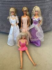 Barbie Doll Bundle 90s With Clothes And Petra Wedding Dress Doll