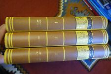EP381: Bernatzik, Hugo A. Die große Völkerkunde. 3 Bände um 1939