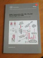 Mercedes Service Neuerungen PKW Juni 1997 - R 129 - W 140 - R 170 - W 202