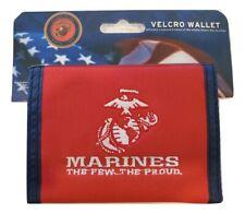 U.S. Marines Logo Bi-Fold Wallet
