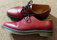 Dr Martens Mens Air Wair 1461 Cherry Red Smooth Shoe UK 12 / Eu 47 - Worn Once