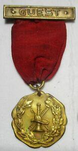 Perth Amboy NJ Fire Department Parade  Medal 1912