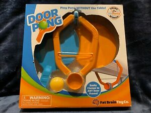 Fat Brain Toys Door Pong / PING PONG Game for Kids NEW Sealed