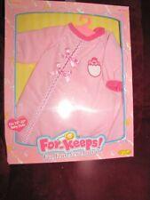 For Keeps pink pajama