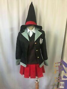 Danganronpa V3 Yumeno Himiko School Uniform Dress Cosplay Costumes Halloween
